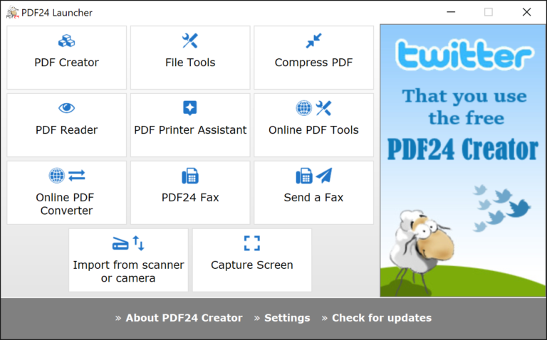 PDF24 Creator 8 7 adds a quick-display PDF reader | BetaNews