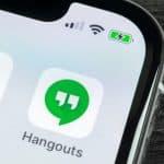 Google Hangouts on iPhone
