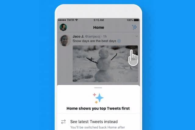 Twitter sparkle button