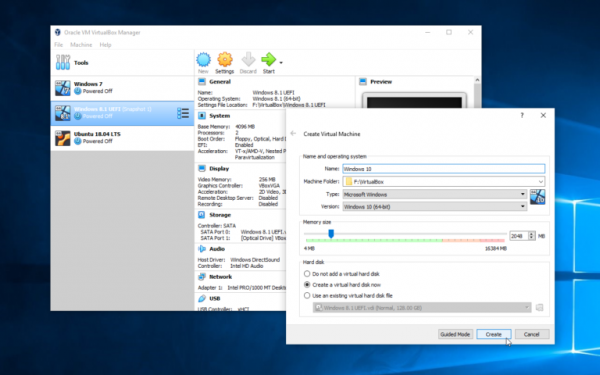 VirtualBox 6 0 adds new file manager, revamps user interface