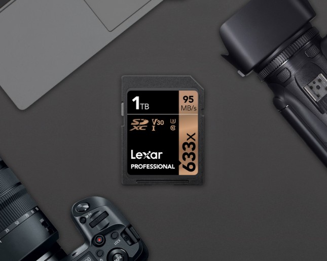photo of Lexar unveils 1TB 633x SDXC UHS-I card -- yes, a terabyte! image