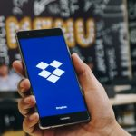 Dropbox on smartphone