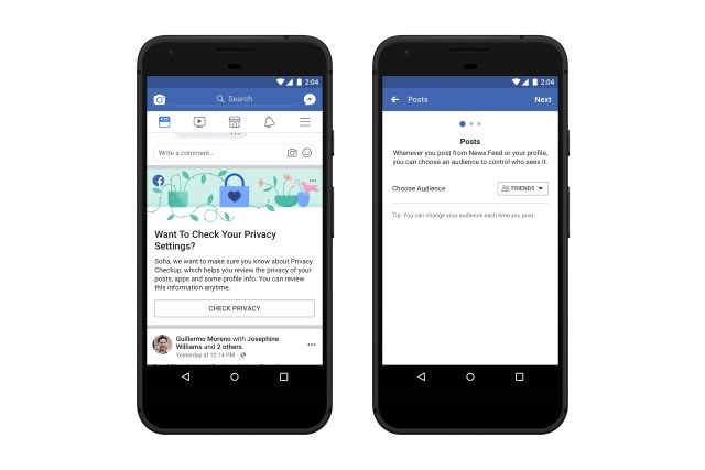 Facebook privacy checkup 2019