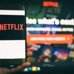 Netflix on smartphone