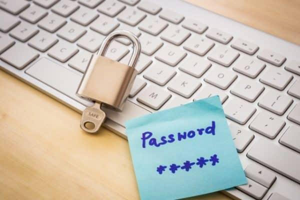 Password on a PostIt