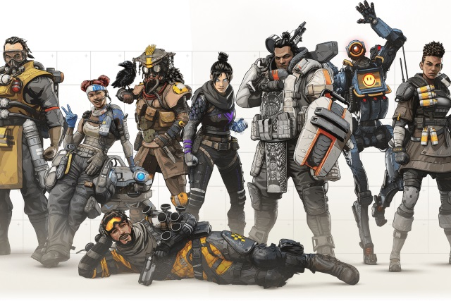 photo image EA's Apex Legends hits 10 million players much faster than Fortnite