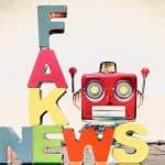 Fake news robot