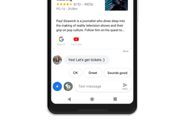 Google Assistant Messages