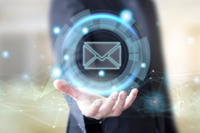 Holding email icon
