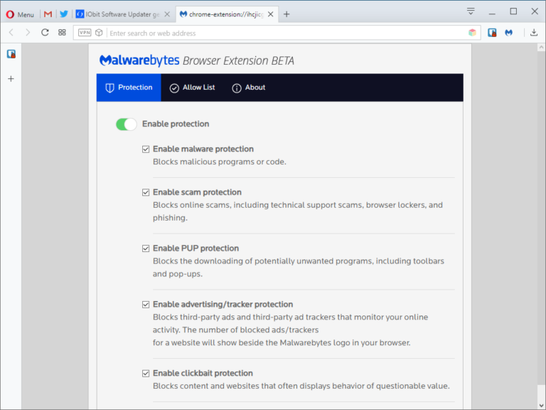 Block malware, ads, clickbait and more with Malwarebytes Browser