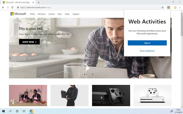 Microsoft brings Windows Timeline support to Chrome with Web Activities extension