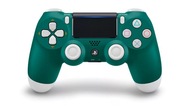 Sony unveils Alpine Green DualShock 4 gaming controller for