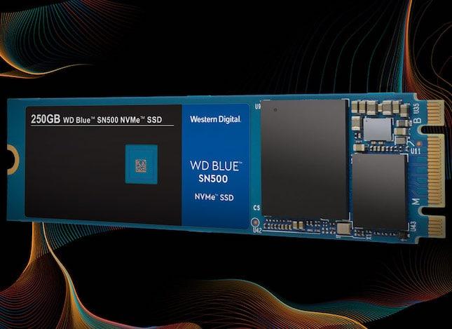 Western Digital releases affordable WD Blue SN500 NVMe SSD