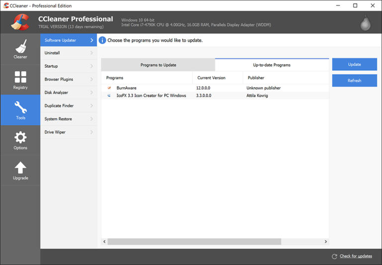 ccleaner version for windows 10