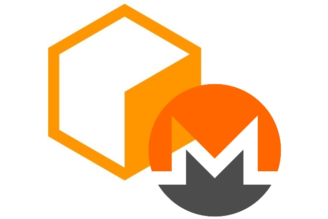 Coinhive and Monero logos