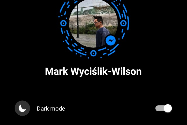 How to enable the secret, hidden dark mode in Facebook Messenger