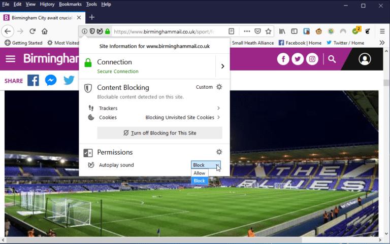 Firefox Quantum 66 blocks audio autoplay, improves scrolling