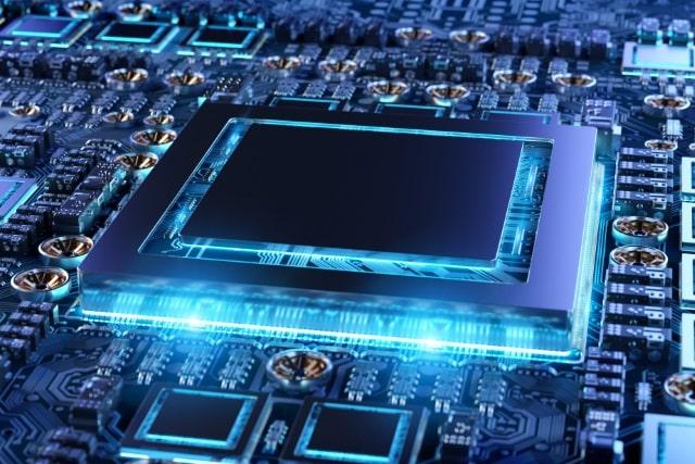 Glowing processor