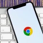 Google Chrome icon on mobile
