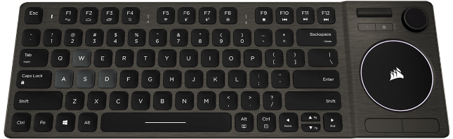 CORSAIR launches K83 Wireless Entertainment Keyboard for