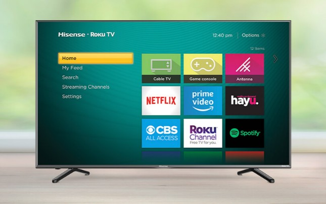 Roku is giving away a 65-inch 4K UHD Hisense TV, but there's