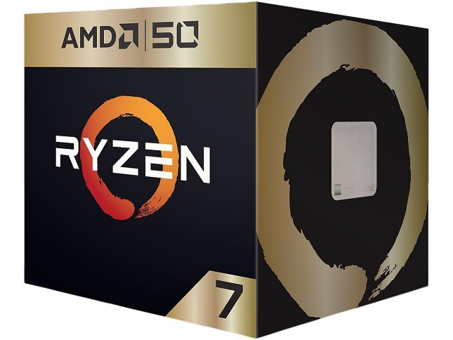 AMD celebrates 50th birthday with 'Gold Edition' versions of Ryzen 7