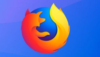 best service a2cf7 75434 Firefox logo on blue background