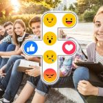 Facebook reactions and teenagers