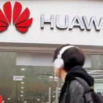 Huawei store sign