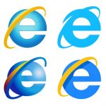 Internet Explorer icons