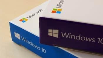 Windows 10 boxes