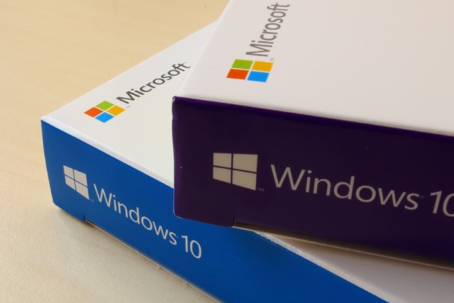 Windows 10 boxes