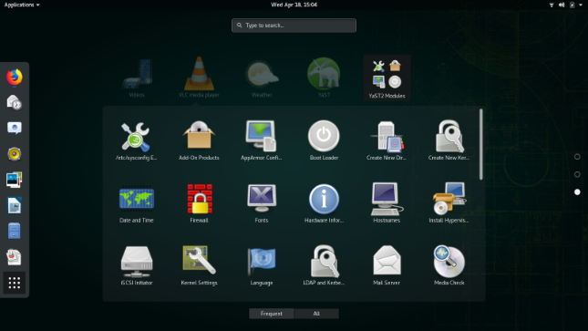 openSUSE Leap 15 1 Linux-based operating system available