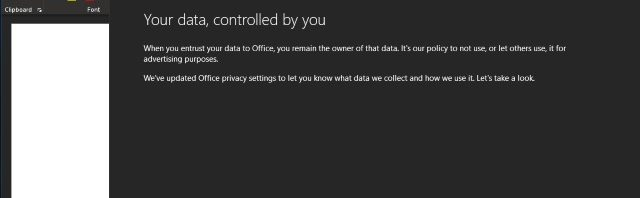 Office data collection