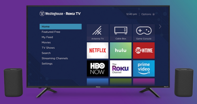 Enter to win a 55-inch 4K smart television and Roku TV