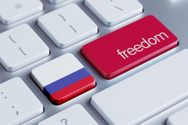 Russia freedom keyboard