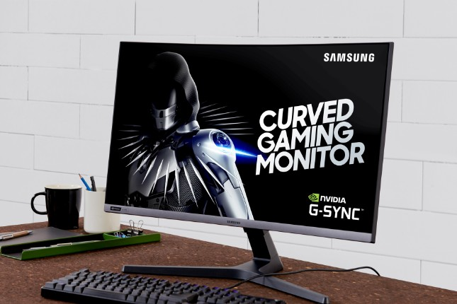 Samsung CRG5 is a curved 27-inch FHD gaming monitor with
