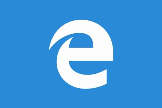 Big Microsoft Edge logo