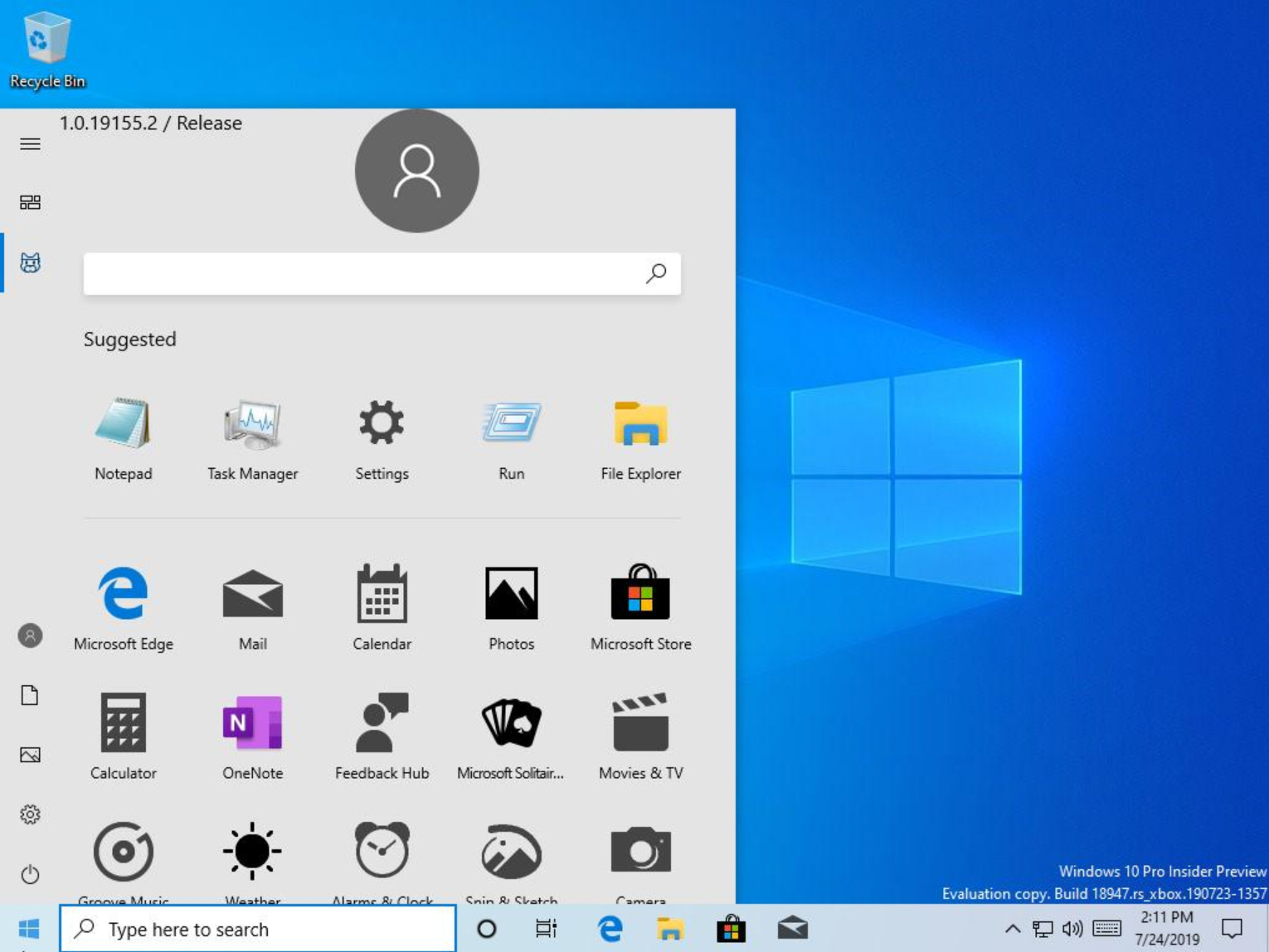 Microsoft accidentally releases internal Windows 10 preview