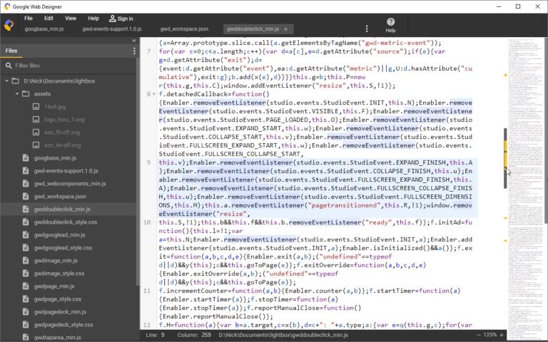 Google Web Designer 6 0 introduces interactive video support