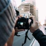Digital camera user