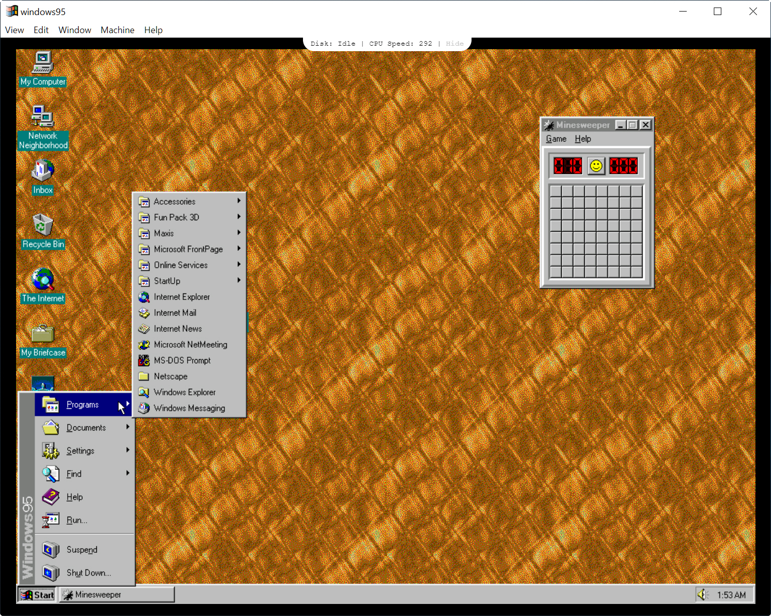 New version of Windows 95 gains a snazzy user interface on