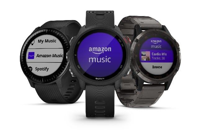 Amazon Music Now On Garmin Watches