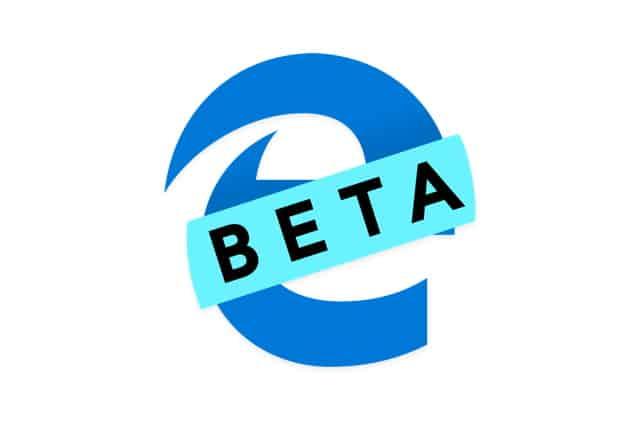 Microsoft Edge Beta logo