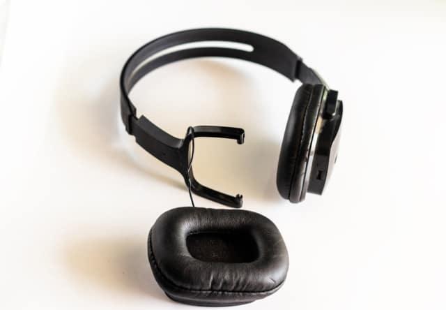 Broken headphones