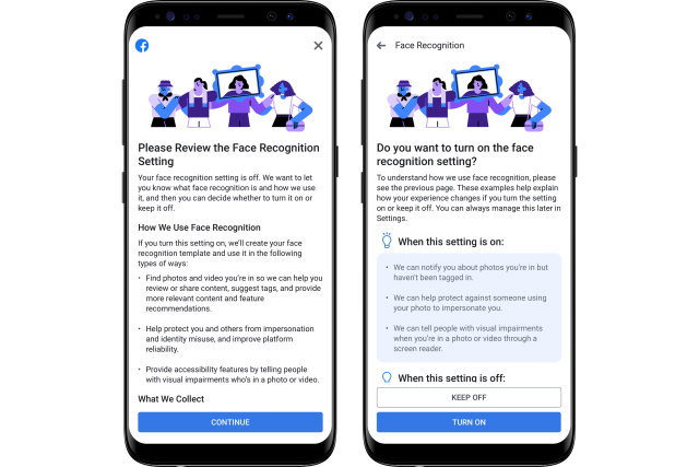 Facebook to keep controversial facial recognition feature off by default
