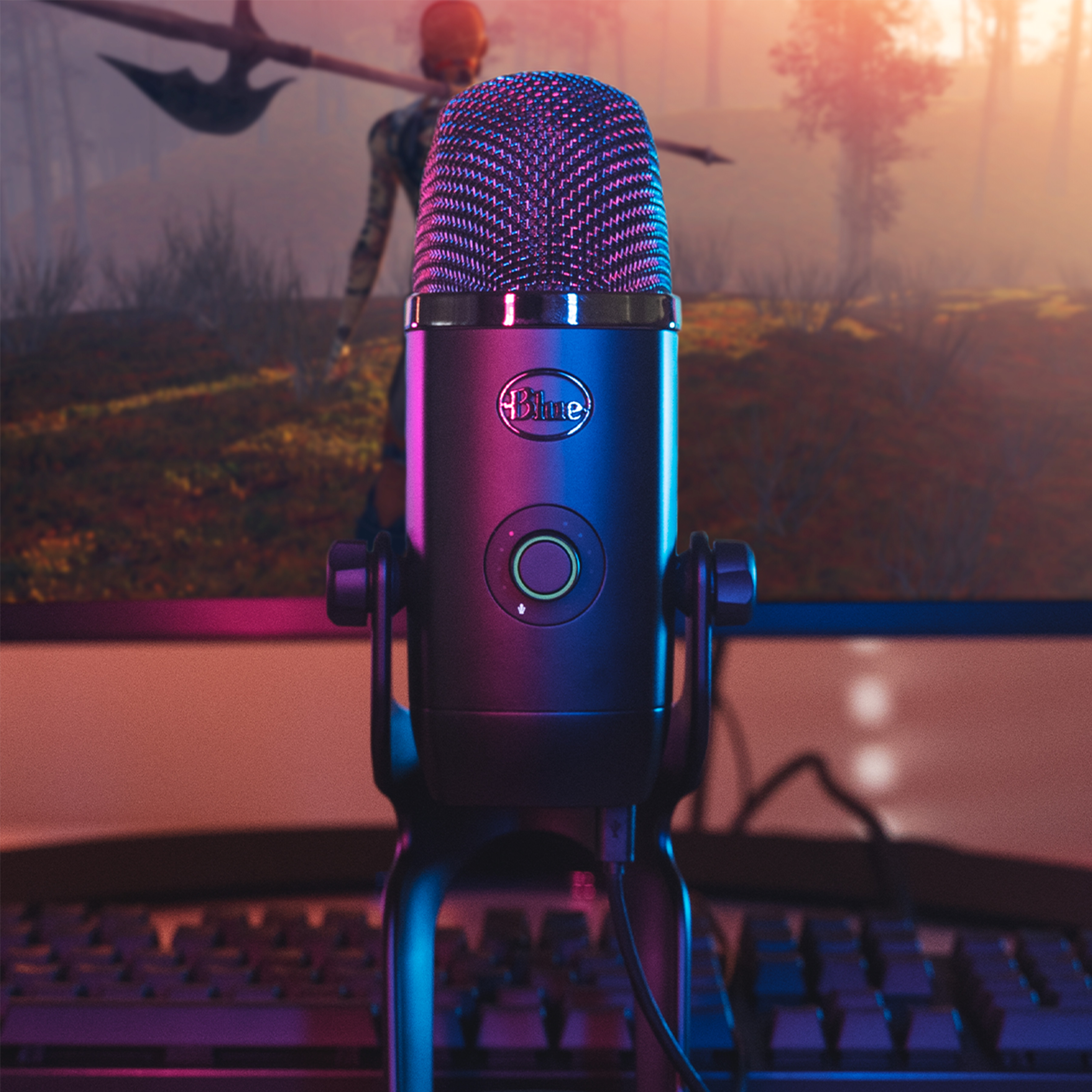 Blue Yeti X is a pro USB microphone for vlogging, gaming