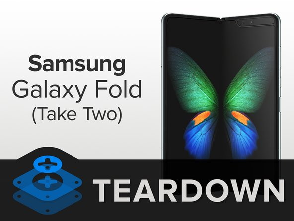 Samsung Galaxy Fold teardown