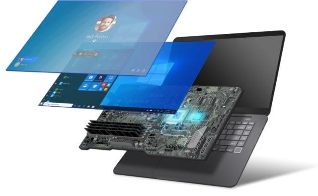 Secure-core PC