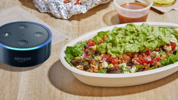 Amazon Alexa can lead to violent diarrhea thanks to new Chipotle skill